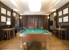 Shutterstock 68153458 Home Gameroom Billiard