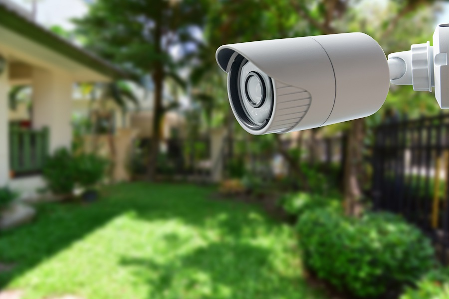 FEEL MORE SECURE WITH HOME SURVEILLANCE CAMERAS
